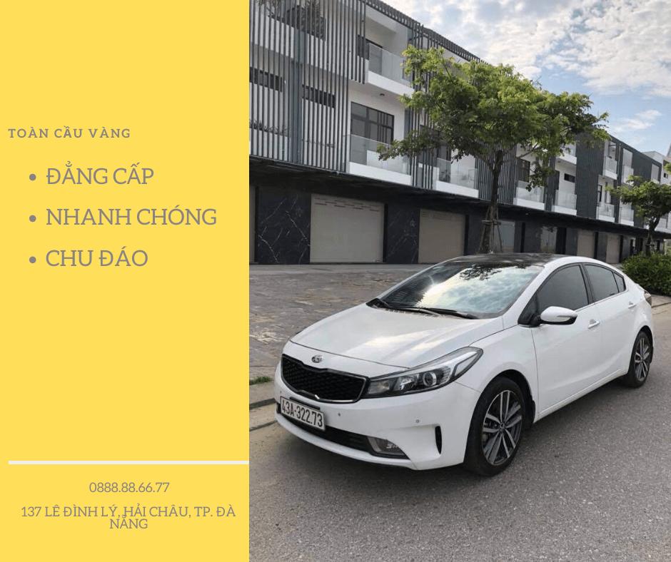 Toàn Cầu Vàng - Công ty cho thuê xe du lịch Đà Nẵng uy tín, chuyên nghiệp