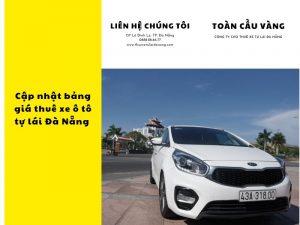 Cập nhật bảng giá thuê xe ô tô tự lái Đà Nẵng