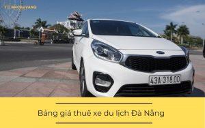 Bảng giá thuê xe du lịch Đà Nẵng