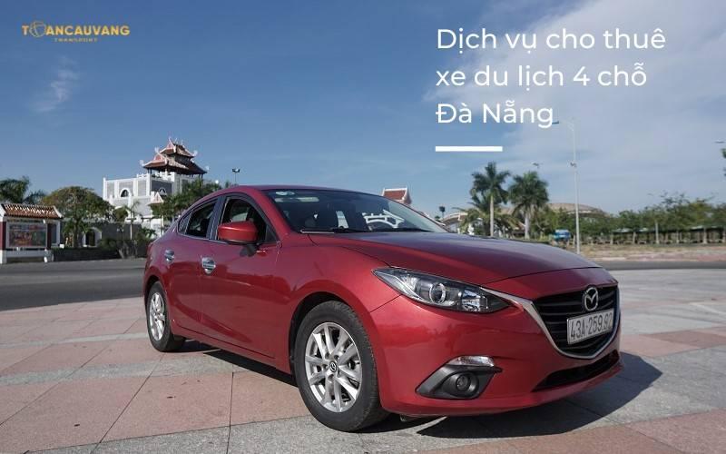 Thuê xe du lịch 4 chỗ tại Đà Nẵng