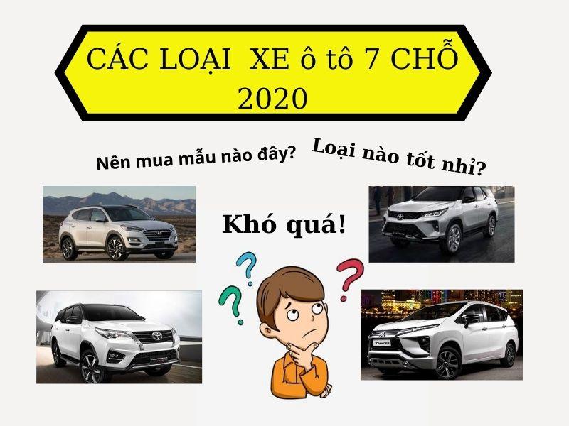 Các loại xe ô tô 7 chỗ